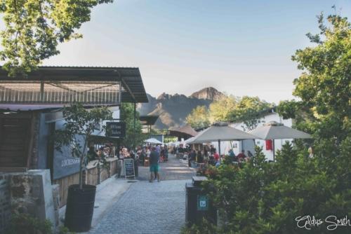 Lourensford Market Entrance Helderberg Mountain