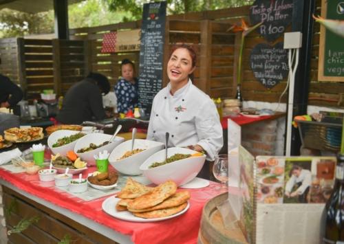 Lebanese market food Lourensford Market