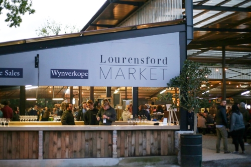 Lourensford Market entrance
